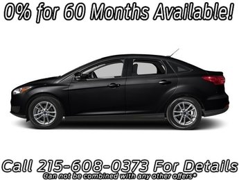 2018 Shadow Black Ford Focus SE 4 Door Sedan Automatic FWD