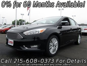 2018 Ford Focus Titanium 4 Door Sedan Automatic I4 Engine FWD