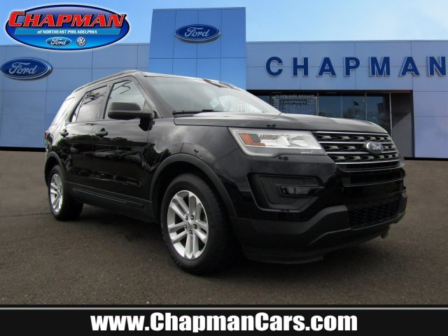 2016 Shadow Black Ford Explorer Base 4 Door Automatic Intercooled Turbo Premium Unleaded I-4 2.3 L/140 Engine FWD