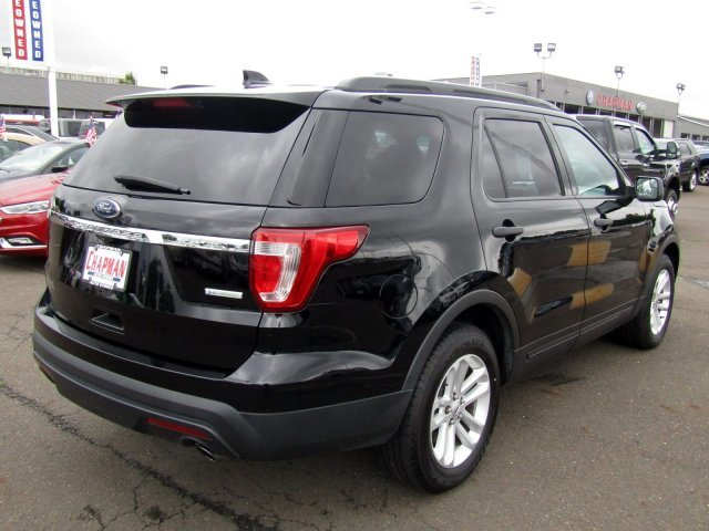 2016 Shadow Black Ford Explorer Base SUV Automatic FWD 4 Door