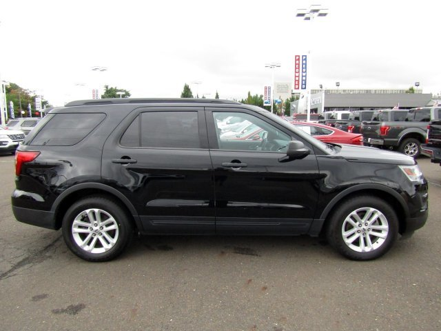 2016 Shadow Black Ford Explorer Base 4 Door SUV Automatic Intercooled Turbo Premium Unleaded I-4 2.3 L/140 Engine