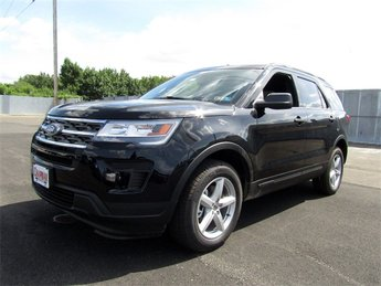 2018 Shadow Black Ford Explorer Base 4X4 Automatic SUV