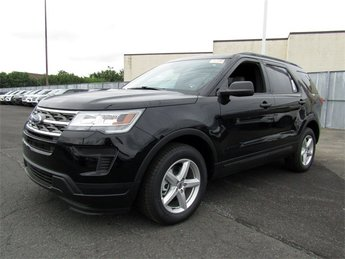 2018 Shadow Black Ford Explorer Base 4 Door SUV 3.5L V6 Ti-VCT Engine 4X4
