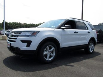 2018 Oxford White Ford Explorer Base Automatic 3.5L V6 Ti-VCT Engine SUV