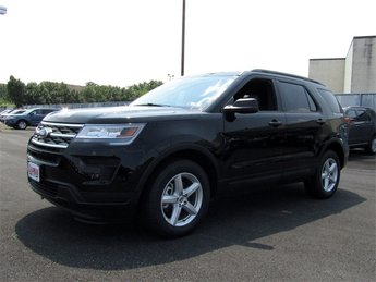 2018 Shadow Black Ford Explorer Base SUV 3.5L V6 Ti-VCT Engine Automatic 4 Door