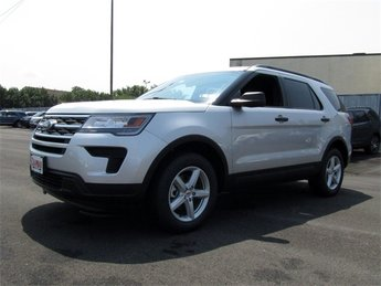 2018 Ingot Silver Metallic Ford Explorer Base 4 Door Automatic SUV