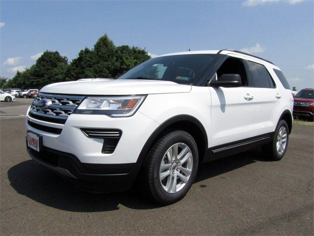 2018 Ford Explorer XLT 4 Door SUV 3.5L V6 Ti-VCT Engine Automatic 4X4