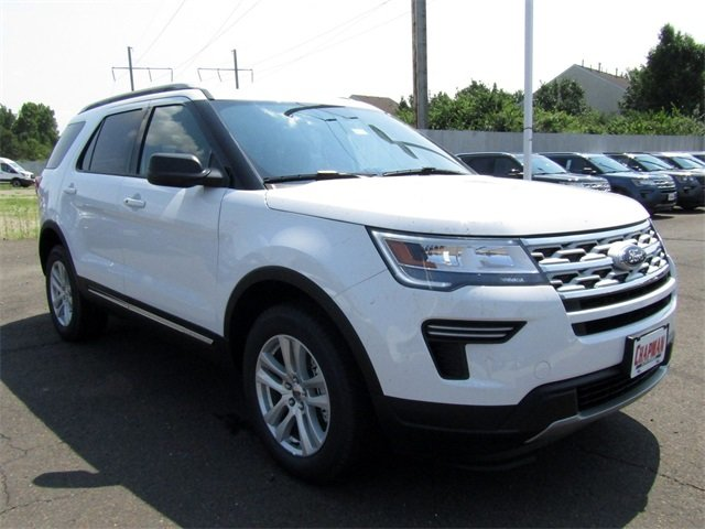 2018 Ford Explorer XLT SUV Automatic 4 Door 3.5L V6 Ti-VCT Engine