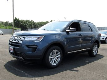 2018 Blue Metallic Ford Explorer XLT 4 Door SUV Automatic 4X4 3.5L V6 Ti-VCT Engine