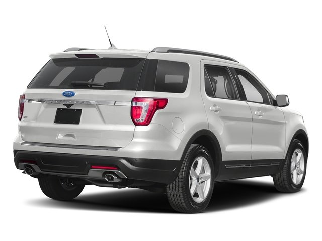 2018 Oxford White Ford Explorer XLT 4 Door 4X4 SUV