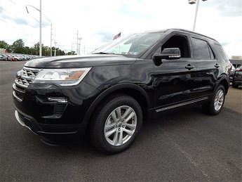 2018 Shadow Black Ford Explorer XLT SUV 4 Door 3.5L V6 Ti-VCT Engine