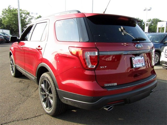 2018 Ford Explorer XLT 4X4 4 Door Automatic 3.5L V6 Ti-VCT Engine SUV