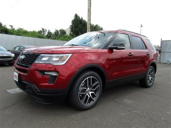 2018 Ford Explorer Sport 3.5L Engine 4 Door SUV