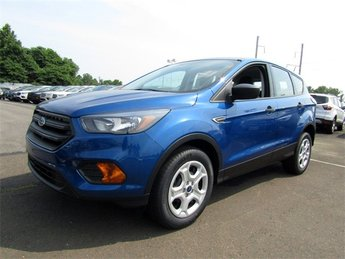 2018 Lightning Blue Metallic Ford Escape S FWD Automatic 4 Door