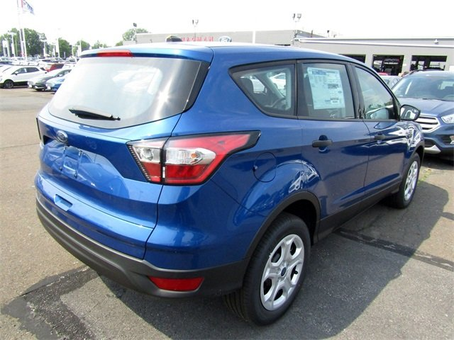 2018 Lightning Blue Metallic Ford Escape S SUV 2.5L iVCT Engine FWD