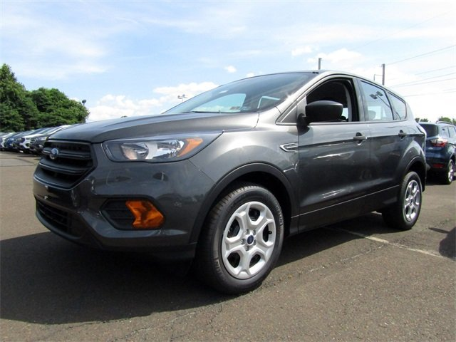 2018 Magnetic Metallic Ford Escape S Automatic FWD SUV 2.5L iVCT Engine 4 Door