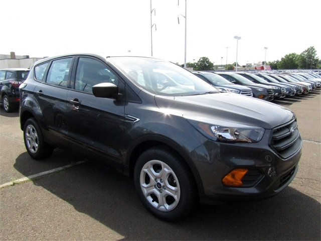 2018 Magnetic Metallic Ford Escape S 2.5L iVCT Engine Automatic FWD SUV 4 Door