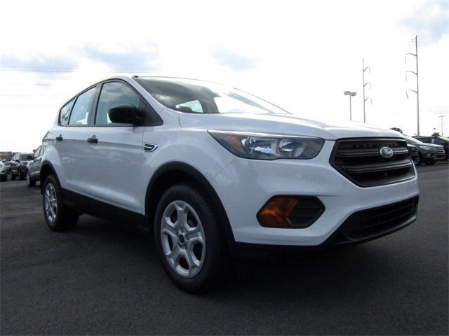 2018 Ford Escape S FWD SUV 2.5L iVCT Engine Automatic