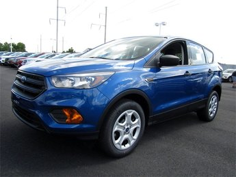 2018 Lightning Blue Metallic Ford Escape S 4 Door FWD SUV Automatic 2.5L iVCT Engine