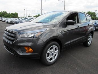 2018 Magnetic Metallic Ford Escape S 4 Door Automatic 2.5L iVCT Engine SUV FWD