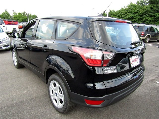 2018 Shadow Black Ford Escape S 2.5L iVCT Engine Automatic 4 Door