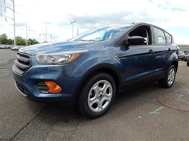 2018 Blue Metallic Ford Escape S FWD 2.5L iVCT Engine Automatic