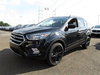 2018 Ford Escape SE EcoBoost 1.5L I4 GTDi DOHC Turbocharged VCT Engine Automatic 4 Door SUV FWD