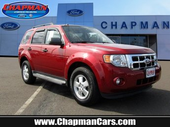 2012 Toreador Red Metallic Ford Escape XLT 4X4 Automatic 4 Door SUV