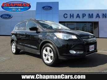 2016 Ford Escape SE Automatic 4X4 Intercooled Turbo Regular Unleaded I-4 1.6 L/98 Engine