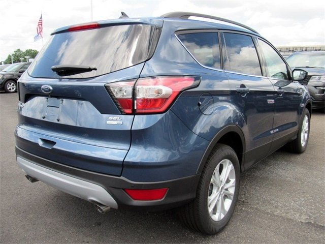 2018 Ford Escape SEL SUV 4 Door EcoBoost 1.5L I4 GTDi DOHC Turbocharged VCT Engine