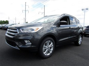 2018 Magnetic Metallic Ford Escape SEL 4 Door Automatic EcoBoost 1.5L I4 GTDi DOHC Turbocharged VCT Engine