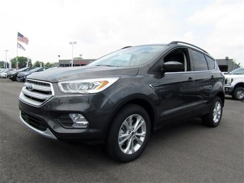 2018 Magnetic Metallic Ford Escape SEL SUV Automatic 4 Door EcoBoost 1.5L I4 GTDi DOHC Turbocharged VCT Engine