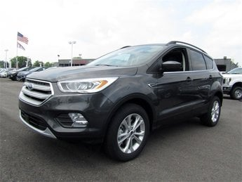 2018 Magnetic Metallic Ford Escape SEL SUV 4 Door EcoBoost 1.5L I4 GTDi DOHC Turbocharged VCT Engine Automatic 4X4