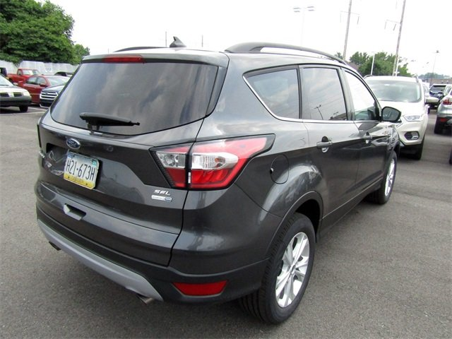 2018 Magnetic Metallic Ford Escape SEL SUV EcoBoost 1.5L I4 GTDi DOHC Turbocharged VCT Engine 4 Door Automatic 4X4