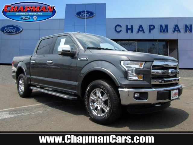 2016 Ford F-150 Lariat Automatic Twin Turbo Regular Unleaded V-6 Engine Truck 4 Door 4X4
