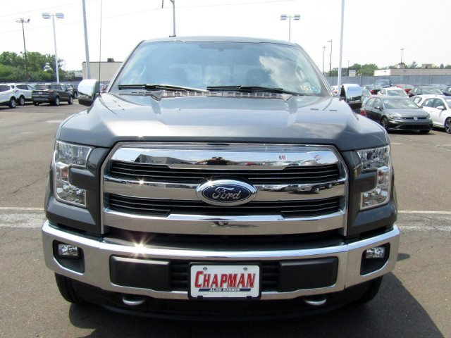 2016 Magnetic Metallic Ford F-150 Lariat 4X4 Truck Automatic 4 Door