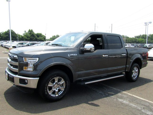 2016 Magnetic Metallic Ford F-150 Lariat Automatic 4X4 Truck Twin Turbo Regular Unleaded V-6 Engine
