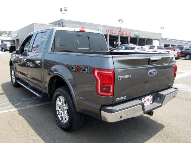 2016 Ford F-150 Lariat Twin Turbo Regular Unleaded V-6 Engine 4X4 Automatic