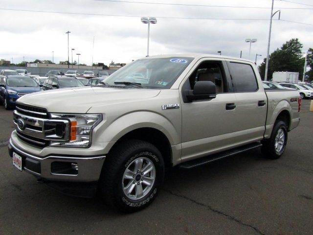 White Gold Ford F X Regular Unleaded V  Engine Truck