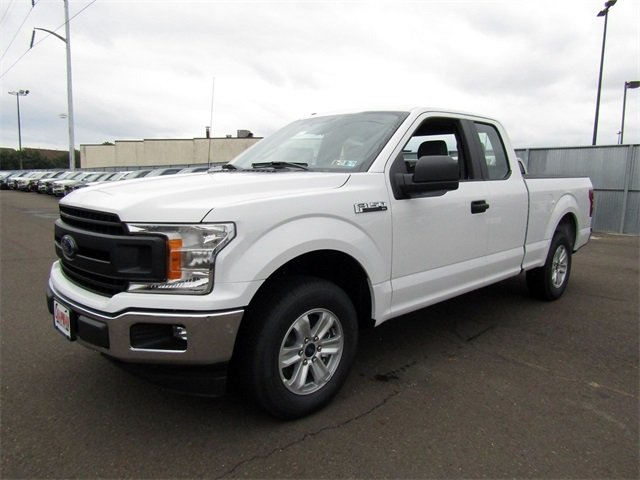 2018 Oxford White Ford F-150 XL 3.3L V6 Ti-VCT 24V Engine Automatic 4 Door RWD