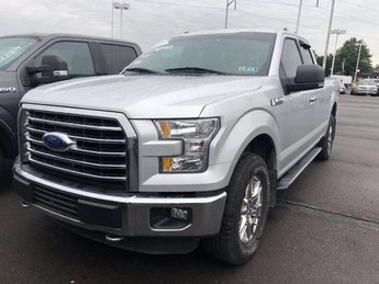 2015 Gray Ford F-150 XLT 4 Door 4X4 Regular Unleaded V-6 3.5 L/213 Engine Truck Automatic