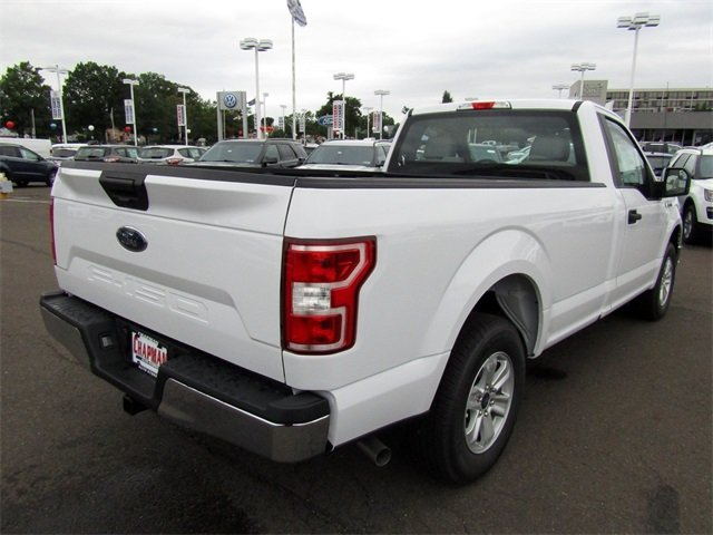 2018 Oxford White Ford F-150 XL Automatic RWD 2 Door