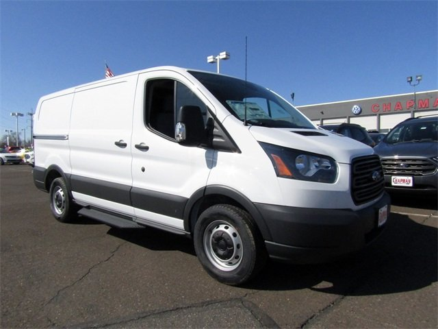 2018 Oxford White Ford Transit-150 Base Automatic Van RWD