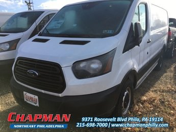2018 Oxford White Ford Transit Van Base Flexible V-6 3.7 L/228 Engine 3 Door RWD Automatic Van