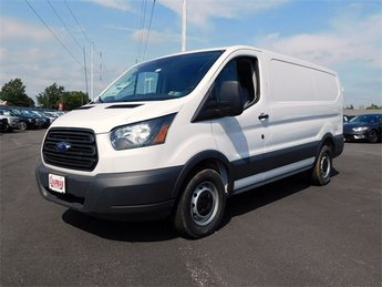 2018 Oxford White Ford Transit-150 Base Van Automatic 3 Door RWD 3.7L V6 Ti-VCT 24V Engine
