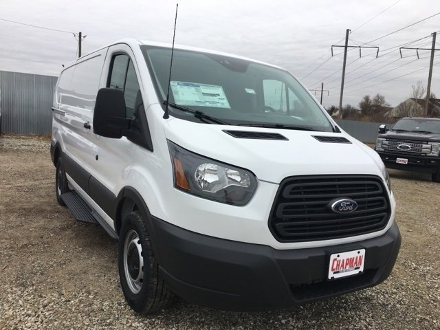 2018 Oxford White Ford Transit-150 Base 3.7L V6 Ti-VCT 24V Engine 3 Door Van Automatic RWD