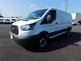 2018 Oxford White Ford Transit-150 Base RWD Automatic Van 3 Door
