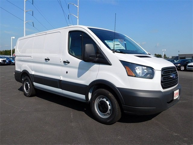 2018 Oxford White Ford Transit-150 Base Automatic Van EcoBoost 3.5L V6 GTDi DOHC 24V Twin Turbocharged Engine RWD