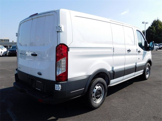 2018 Oxford White Ford Transit-150 Base 3 Door EcoBoost 3.5L V6 GTDi DOHC 24V Twin Turbocharged Engine RWD Automatic Van