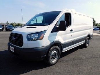 2018 Oxford White Ford Transit-150 Base Automatic 3 Door RWD Van